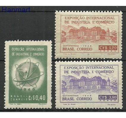 Znaczek Brazylia 1948 Mi 726-728 Czyste **