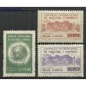 Brazylia 1948 Mi 726-728 Czyste **