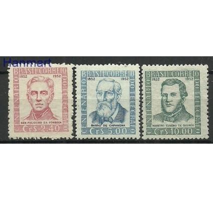 Znaczek Brazylia 1952 Mi 781-783 Czyste **