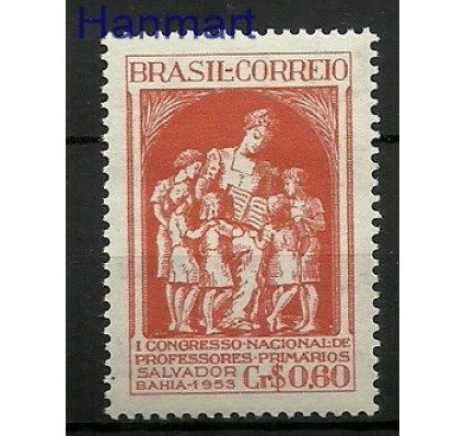 Znaczek Brazylia 1953 Mi 825 Czyste **