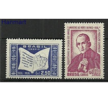 Znaczek Brazylia 1956 Mi 896-897 Czyste **