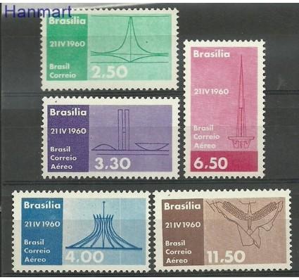 Znaczek Brazylia 1960 Mi 978-982 Czyste **