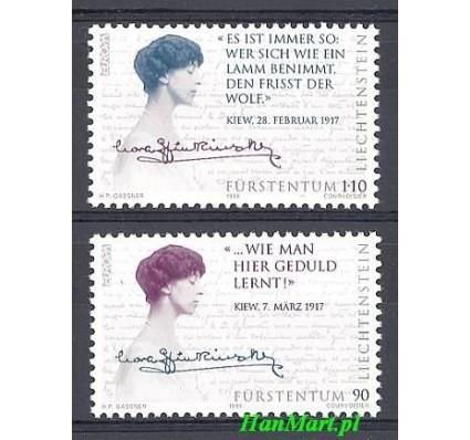 Znaczek Liechtenstein 1996 Mi 1124-1125 Czyste **