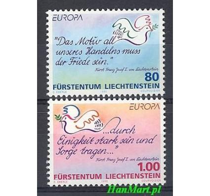 Znaczek Liechtenstein 1995 Mi 1103-1104 Czyste **