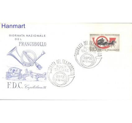 Znaczek Włochy 1960 FDC