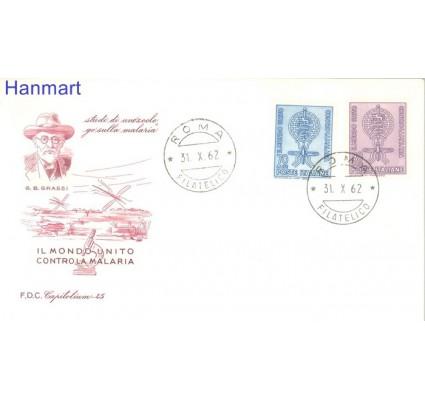 Znaczek Włochy 1962 Mi 1132-1133 FDC