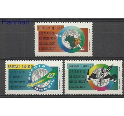 Znaczek Brazylia 1992 Mi 2476-2478 Czyste **