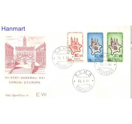 Znaczek Włochy 1964 FDC