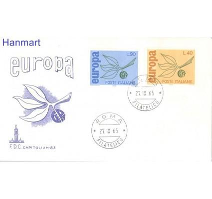 Znaczek Włochy 1965 Mi 1186-1187 FDC