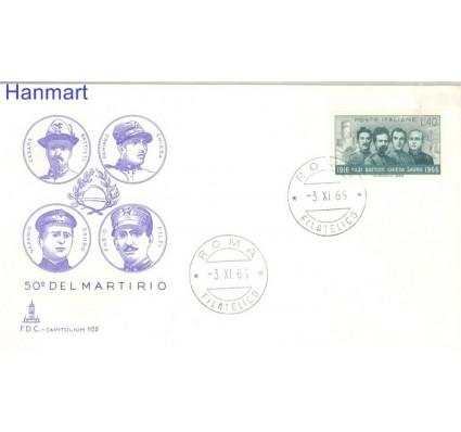 Znaczek Włochy 1966 FDC