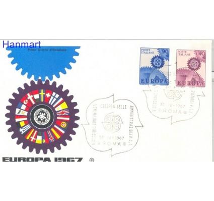 Znaczek Włochy 1967 Mi 1224-1225 FDC