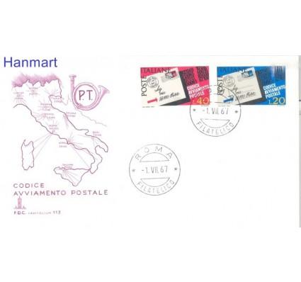 Znaczek Włochy 1967 Mi 1237-1238 FDC