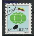 Litwa 1994 Mi 560 Stemplowane