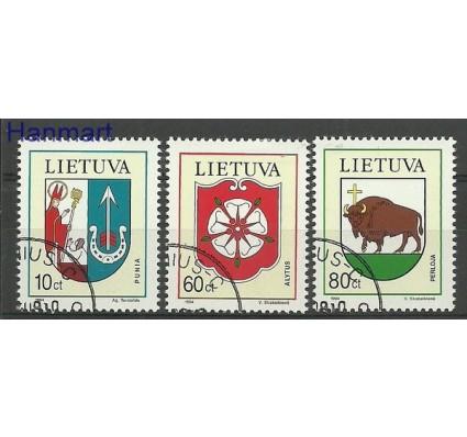 Znaczek Litwa 1994 Mi 563-565 Stemplowane