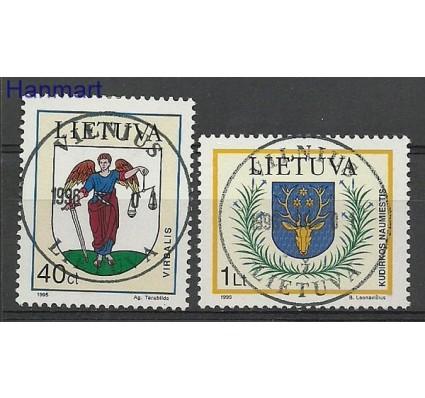 Znaczek Litwa 1995 Mi 591-592 Stemplowane