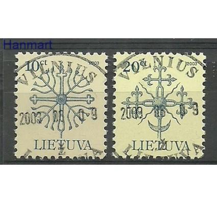 Znaczek Litwa 2003 Stemplowane