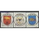 Litwa 2001 Mi 774-776 Stemplowane