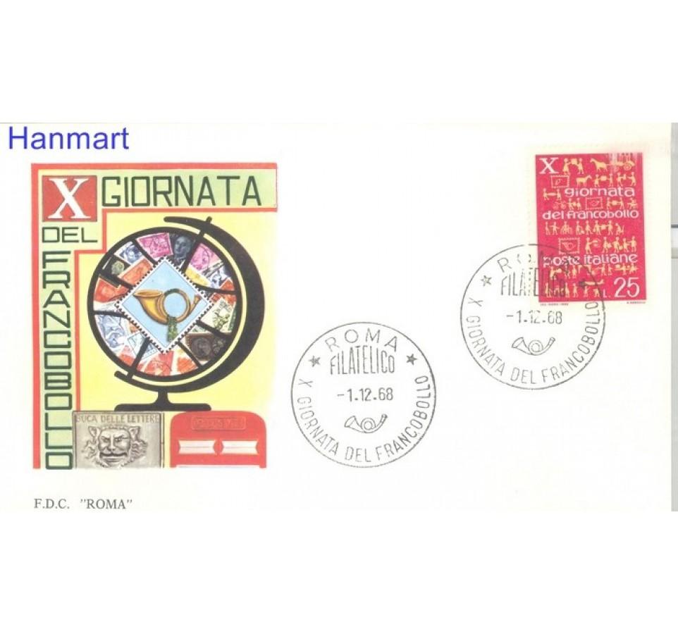 Włochy 1968 FDC