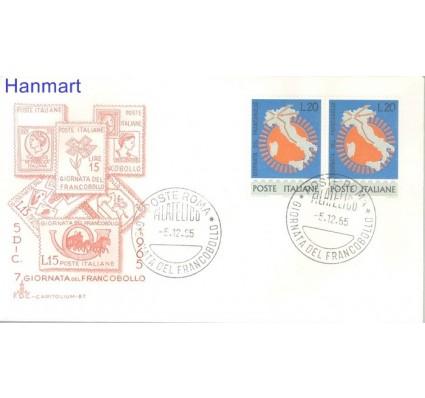 Znaczek Włochy 1965 FDC