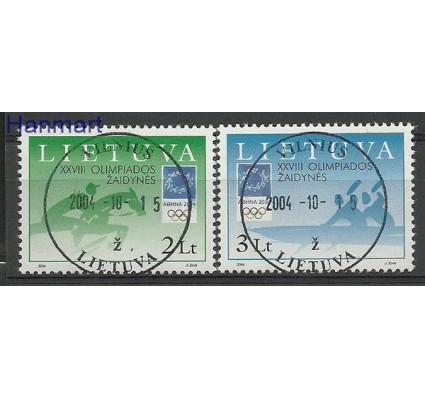 Znaczek Litwa 2004 Mi 855-856 Stemplowane