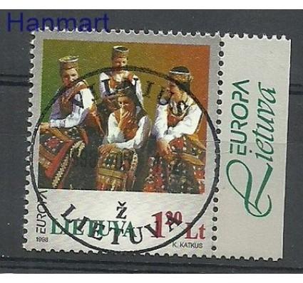 Znaczek Litwa 1998 Mi zf 664 Stemplowane
