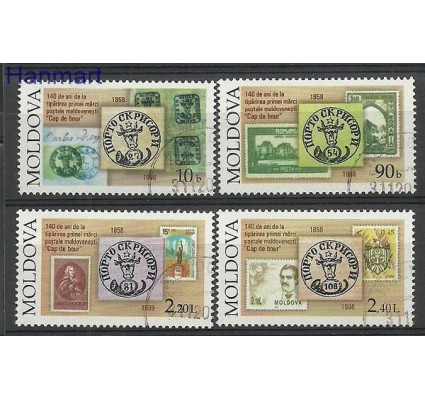 Znaczek Mołdawia 1998 Mi 291-294 Stemplowane