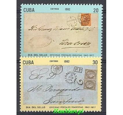 Znaczek Kuba 1982 Mi 2656-2657 Czyste **