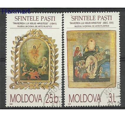 Mołdawia 2000 Mi 361-362 Stemplowane