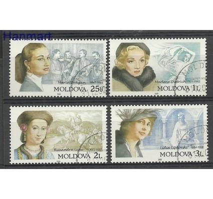 Znaczek Mołdawia 2001 Mi 384-387 Stemplowane