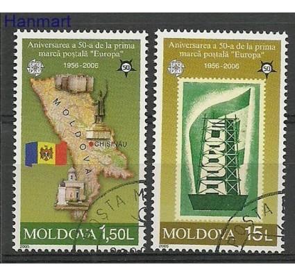 Znaczek Mołdawia 2005 Mi 517-518 Stemplowane