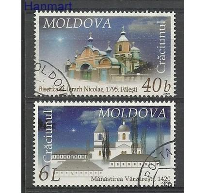 Znaczek Mołdawia 2005 Mi 533-534 Stemplowane