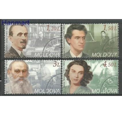 Znaczek Mołdawia 2008 Mi 619-622 Stemplowane