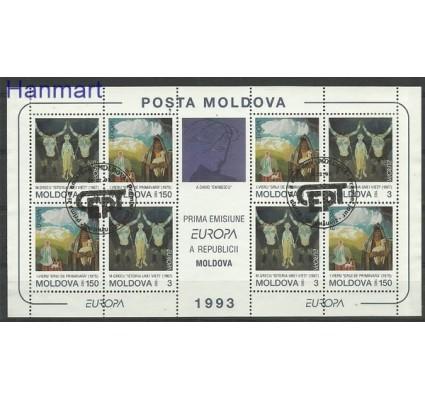 Znaczek Mołdawia 2009 Mi 94-95 Stemplowane