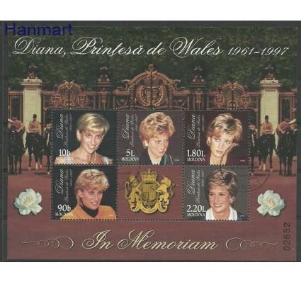 Znaczek Mołdawia 1998 Mi bl 17 Stemplowane