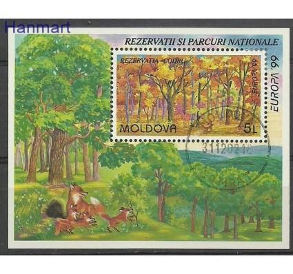 Znaczek Mołdawia 1999 Mi bl 18 Stemplowane