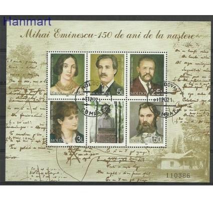 Znaczek Mołdawia 2000 Mi bl 21 Stemplowane