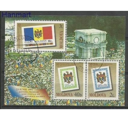 Znaczek Mołdawia 2001 Mi bl 23 Stemplowane