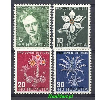 Znaczek Szwajcaria 1946 Mi 475-478 Czyste **