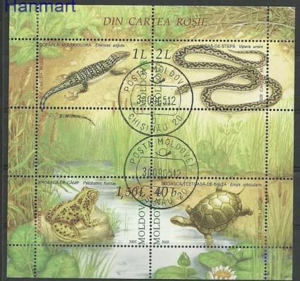 Znaczek Mołdawia 2005 Mi bl 35 Stemplowane