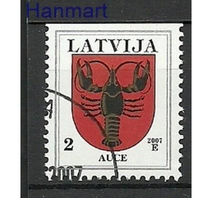 Znaczek Łotwa 2007 Stemplowane