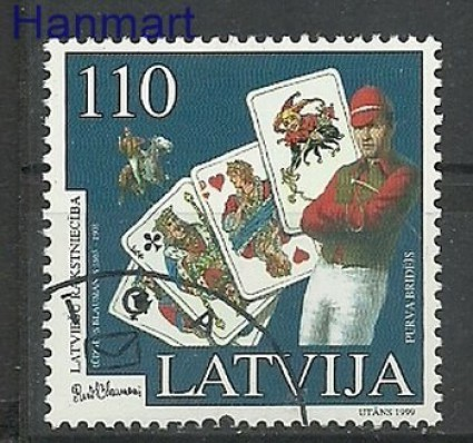 Znaczek Łotwa 1999 Mi 499 Stemplowane