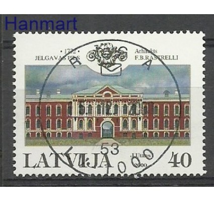 Znaczek Łotwa 2000 Stemplowane