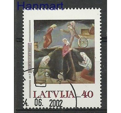 Znaczek Łotwa 2002 Mi 567 Stemplowane