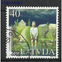 Łotwa 2002 Stemplowane