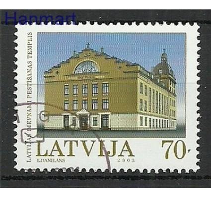 Znaczek Łotwa 2003 Mi 592 Stemplowane