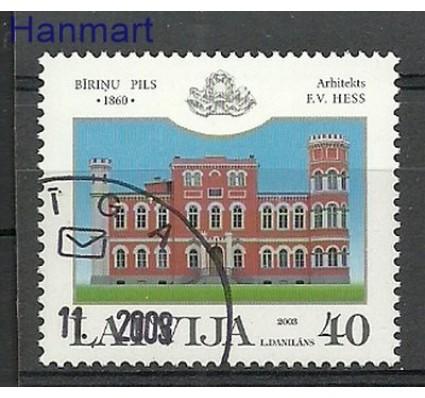 Znaczek Łotwa 2003 Stemplowane