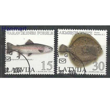 Znaczek Łotwa 2004 Stemplowane