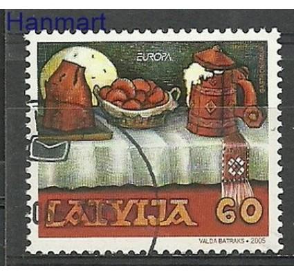 Znaczek Łotwa 2005 Mi 635 Stemplowane