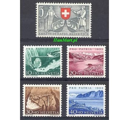 Znaczek Szwajcaria 1953 Mi 580-584 Czyste **