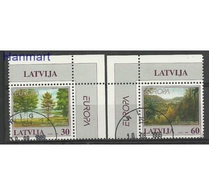 Znaczek Łotwa 1999 Mi 496-497 Stemplowane